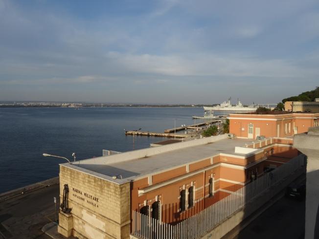 The mare piccolo in Taranto, in Puglia, Italy