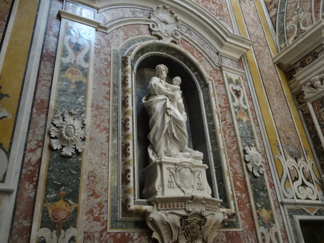 'Il capellone di San Cataldo' in the cathedral in Taranto, in Puglia, Italy