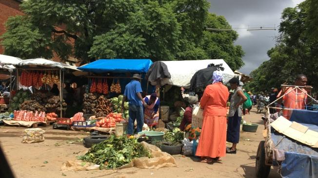 Vendor in Bulawayo, Zimbabwe