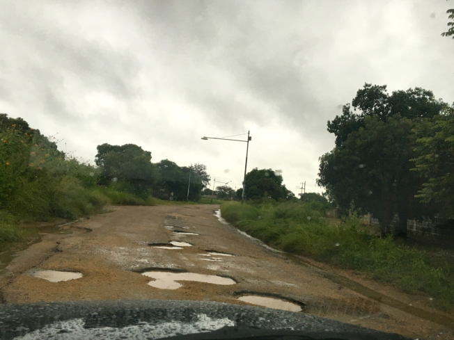 Road in Bulawayo, Zimbabwe
