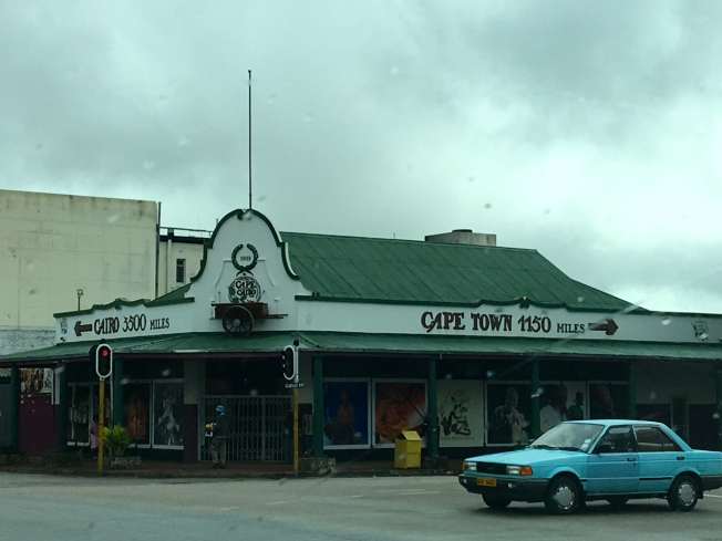 The centre of Bulawayo, Zimbabwe