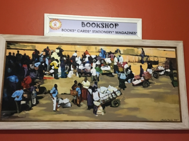 The Indaba Book Cafe in Bulawayo