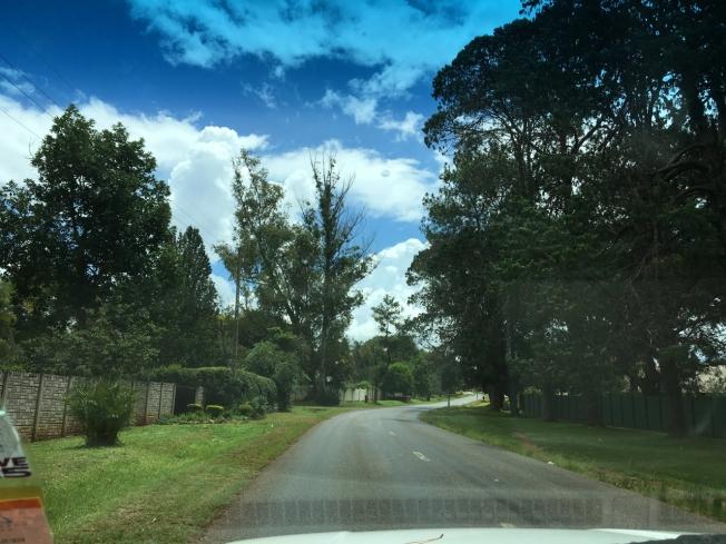 The suburbs of Harare, Zimbabwe