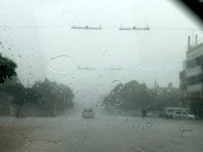 Bulawayo in the rain