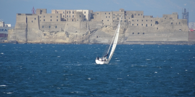 Castel dell'Ovo in Naples, Italy