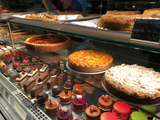Cake selection - Paris, France