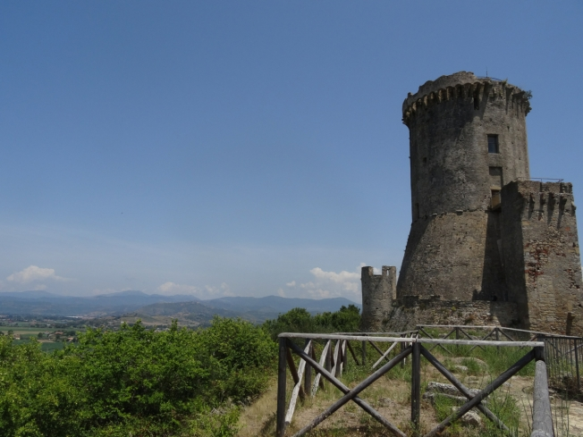 The archaeological site of Velia in Cilento, Italy