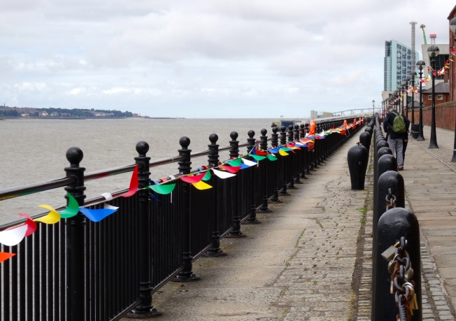 The Mersey in Liverpool, England