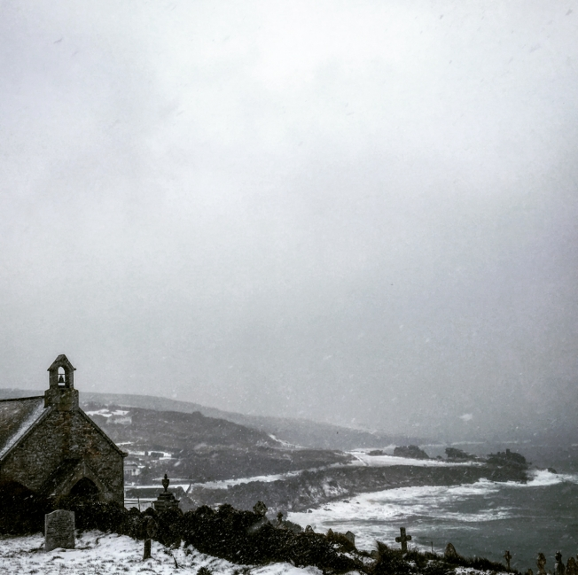 St Ives as the Beast from the East and Storm Emma approach