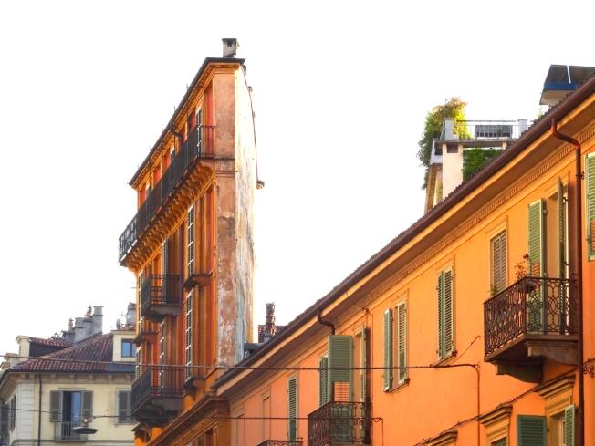 Casa Scaccabarozzi or the Palazzo Fetta di Polenta (Slice of Polenta) by Alessandro Antonelli