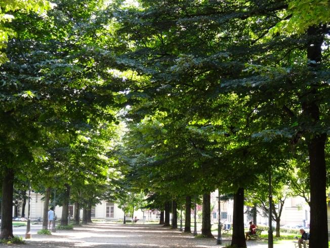 Giardino Aiuola Balbo in Turin, Italy