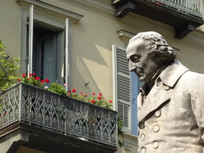 Mathematician Luigi Lagrange or Joseph-Louis Lagrange: born in Turin 1736 - died in Paris 1813
