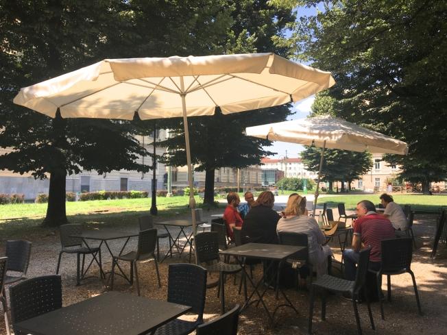 Lunch at Birreria Via Dei Mille in Turin, Italy