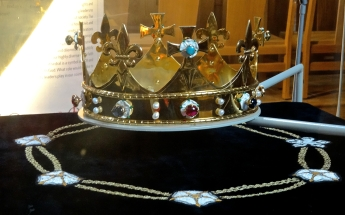 Replica crown - as would have been used by Richard III