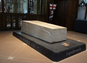 In Leicester Cathedral, England