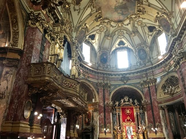 Santuario della Consolata in Turin, Italy