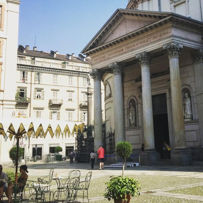 Piazza della Consolata in Turin, Italy
