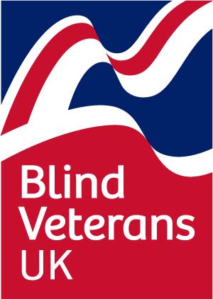 The logo for Blind Veterans UK