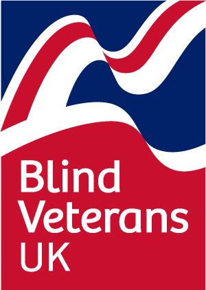 The logo for Blind Veterans UK