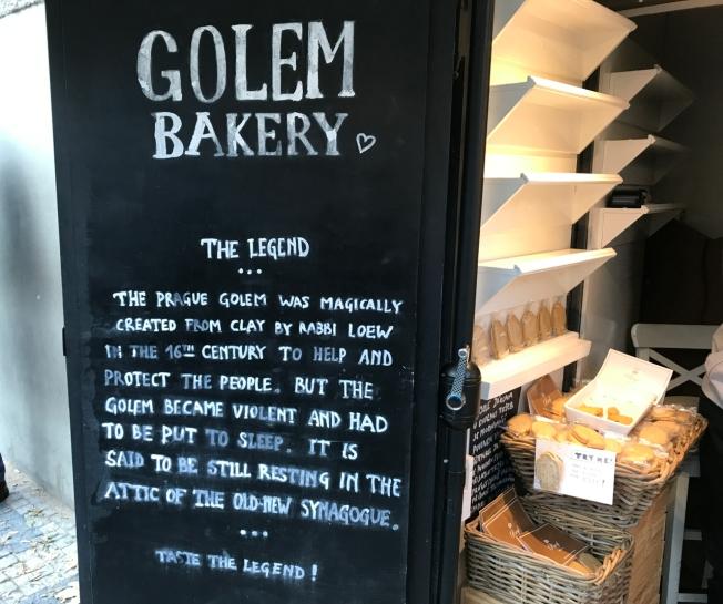 Golem Bakery, Josefov, Prague