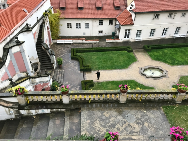 The Gardens below Prague Castle