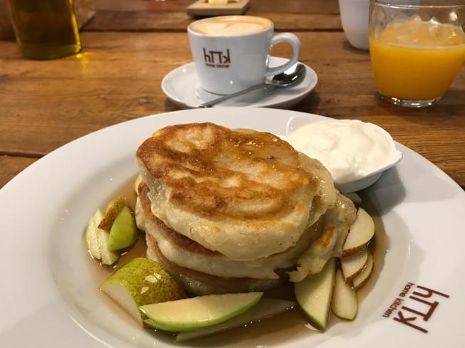 Breakfast in Prague