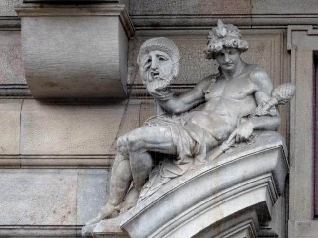Building detail in Prague