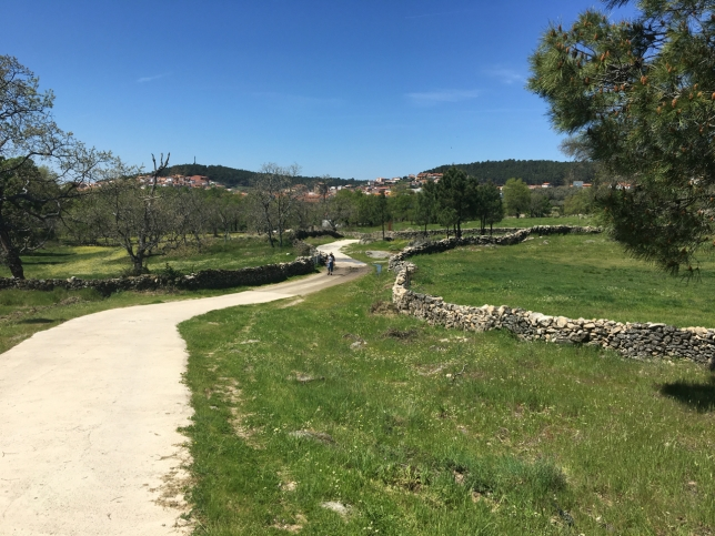 Walking in Extremadura in the spring of 2018