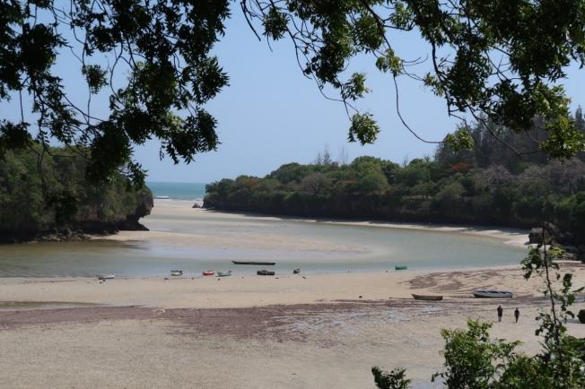 The creek at Takaungu, Kenya