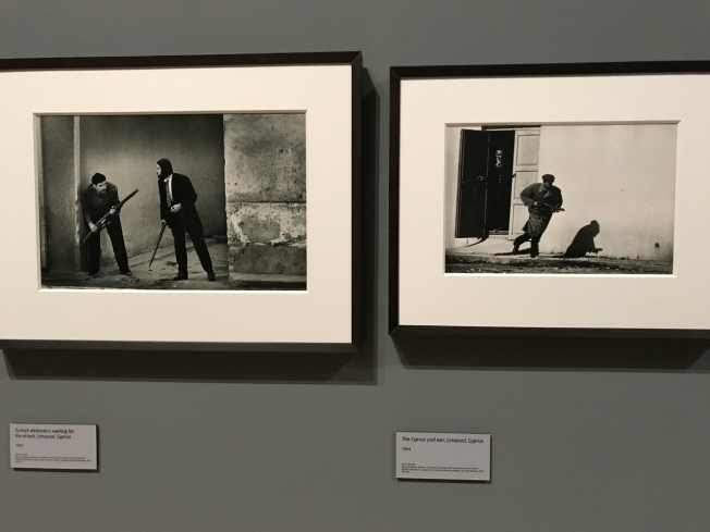 The exhibition of Don McCullin's photographs at Tate Britain, London