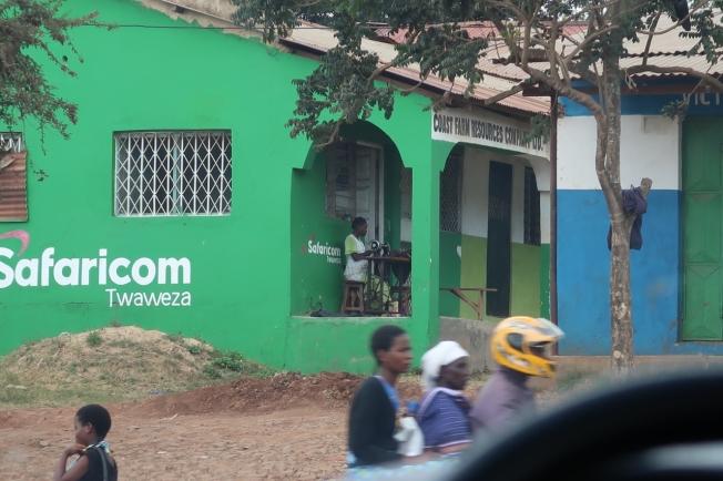 On the road to Tsavo, Kenya