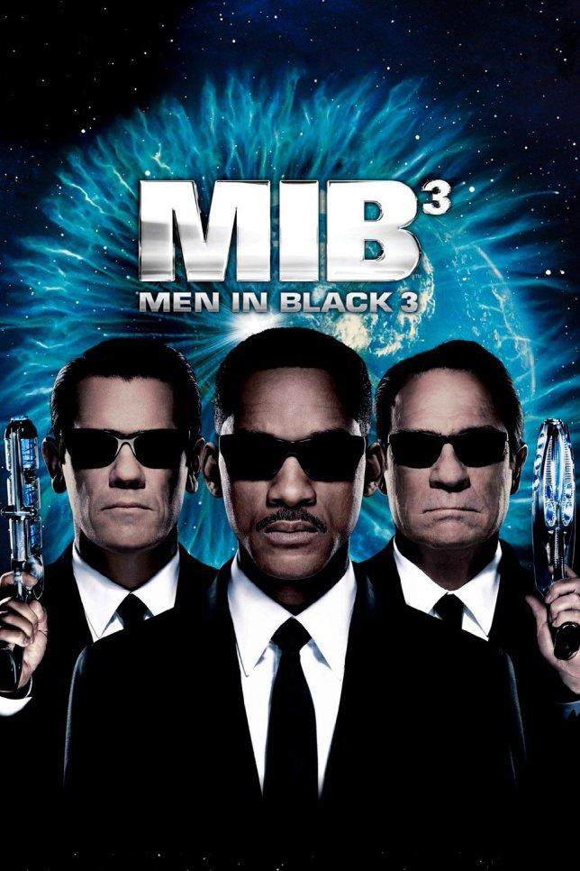 Men in Black 3, starring Will Smith, Tommy Lee Jones and Josh Brolin